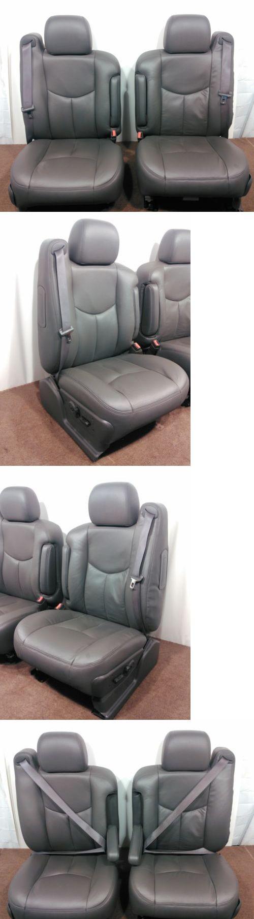 SUVs: Gm Chevy Truck Suv Oem Front Seats Silverado Tahoe Sierra 2003 2004 2005 2006 -> BUY IT NOW ONLY: $950 on eBay!