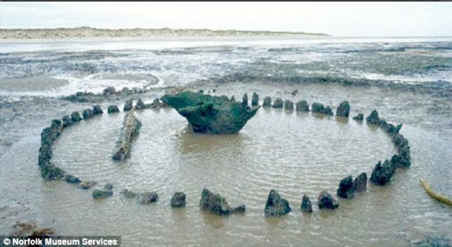 A celestial stone formation older than Stonehenge has been discovered during low tide in the Scottish Isles. It's been dubbed 'Seahenge', and its origins are unknown, yet it is thought to be around 4,000 years old, which would predate the Druid and Pagan civilizations.