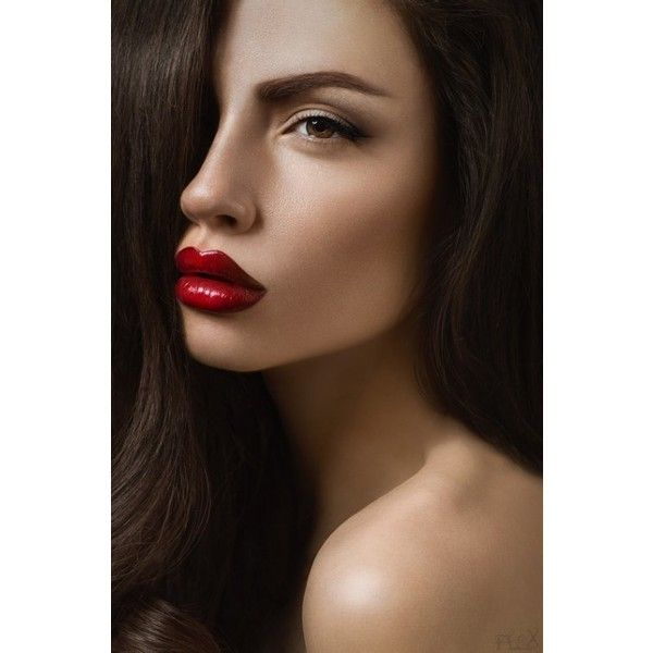 Big Bad Red (7 photos) ❤ liked on Polyvore featuring people and photos