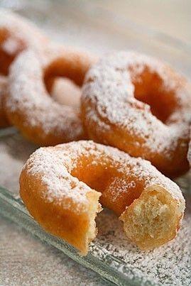 Photo de la recette Beignets aux pommes