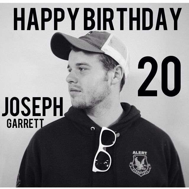 (#7) Joseph Garrett Duggar Birthday: January 20, 1995 #Duggars #19KidsAndCounting