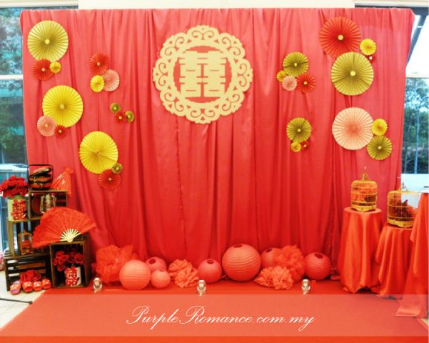 Great Oriental Wedding Photo Booth Backdrop More