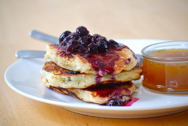 Clinton Street Baking Company's Famous Blueberry Pancakes http ...