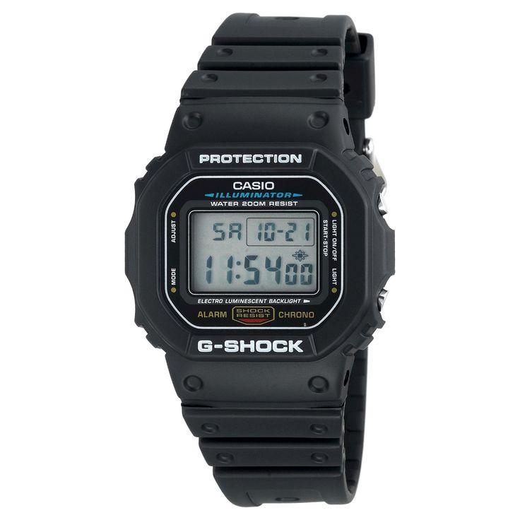 Men's Casio G-Shock Watch - Black (DW5600E-1V)