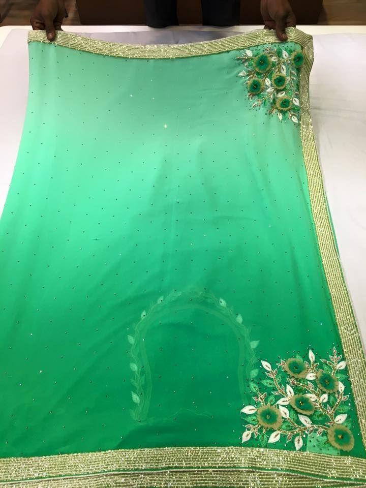 Georgette Designer Sarees | Buy Online Designer Sarees | Elegant Fashion Wear