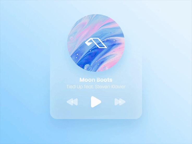 Minimalistic Player Widget