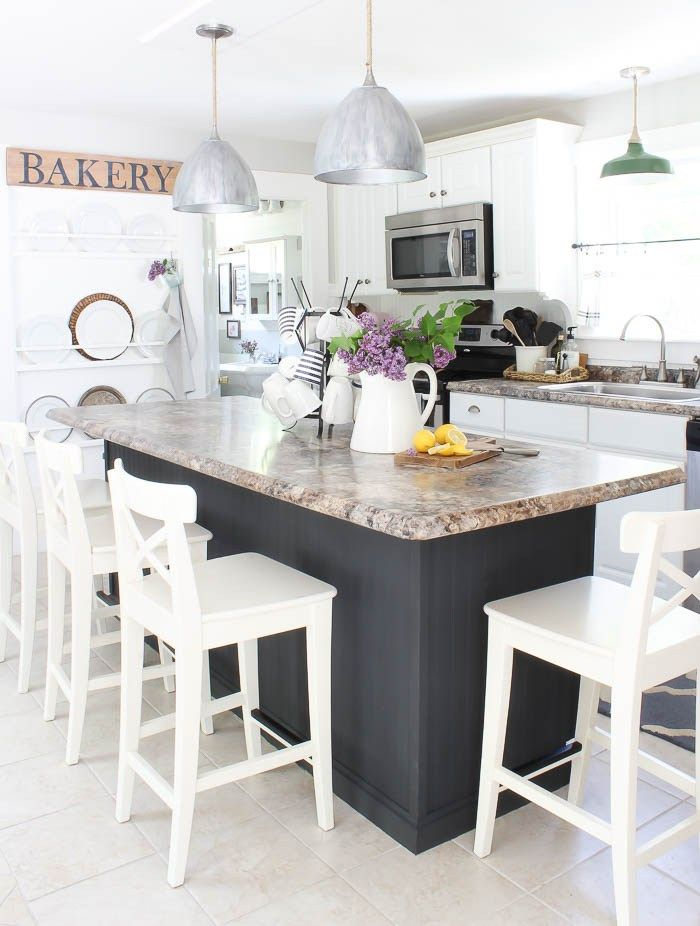 Beautiful Rooms For Rent Farmhouse Style Kitchen Island