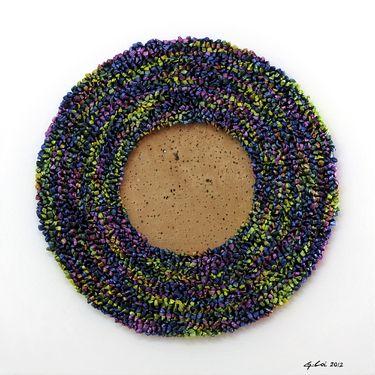 "Saatchi Art Artist Graziella Coi; Painting, ""12x12_Multicolor Flowers"" #art"
