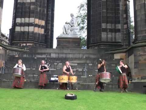 Albannach - Edinburgh Festival Fringe  Who needs drugs? This kinda music comes from the Earth and makes my spirit soar...