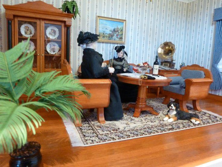 18 best Accessoires im Maßstab 112 (Dollhouse Miniatures Scale 1 - chippendale wohnzimmer weis
