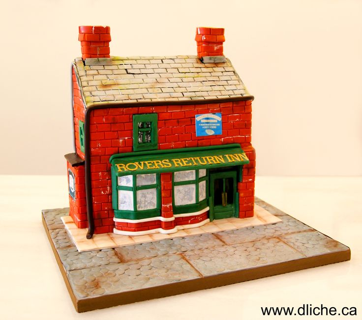 Coronation Street Cake Ideas