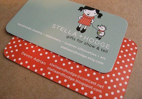 cute business card