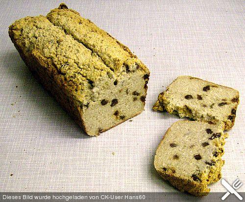 Reis - Kokosnuss Brot mit Rosinen *__*