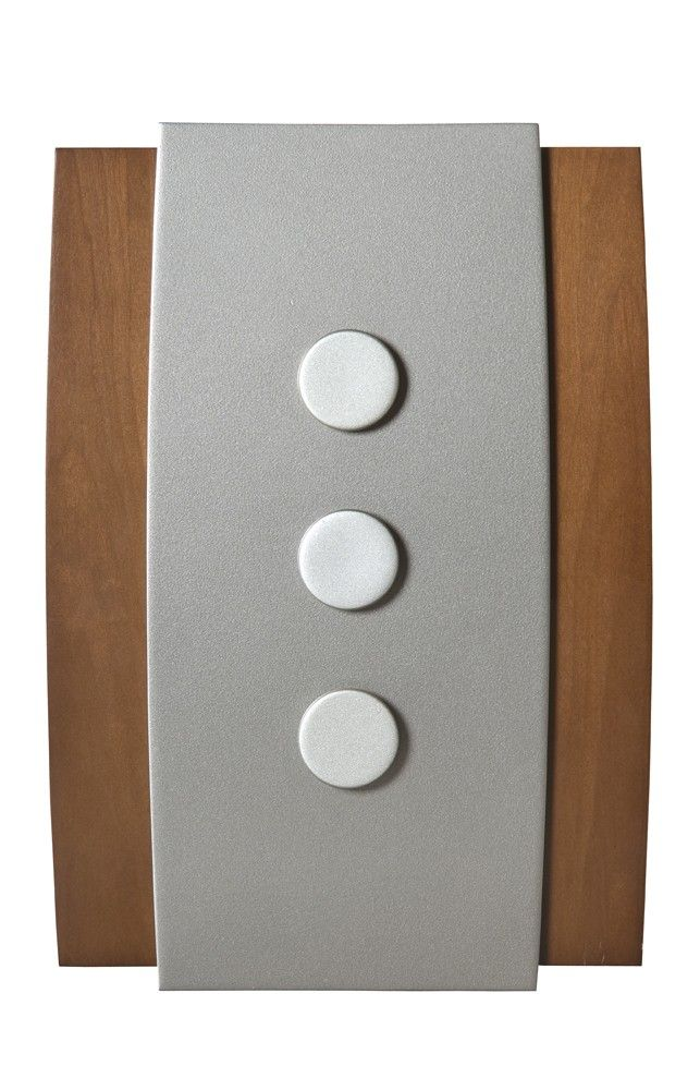 Honeywell RCWL3504A Decor Wireless Door Chime and Push Button  sc 1 st  Pinterest : doors bells - pezcame.com