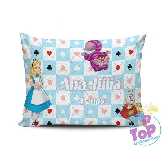 Compre Lembrancinha Alice No Pais Das Maravilhas Almofada 15x20cm