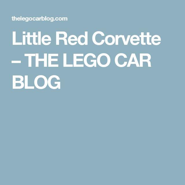 Little Red Corvette – THE LEGO CAR BLOG