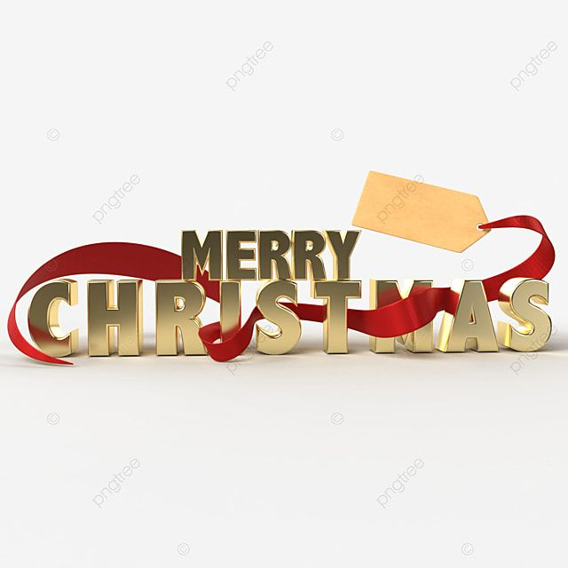 Festive Gold Lettering On A Transparent Background With Red Ribbon Banner Design New Year Christmas Celebration Png Transparent Clipart Image And Psd File Fo In 2020 Banner Design Ribbon Banner Christmas