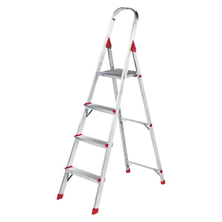 Louisville 4 ft. Aluminum Euro Platform Ladder - DADL234604