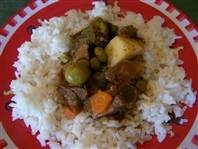 Carne Guisada.  We had this Dominican beef stew at a museum cafe.  I am not sure this is the best recipe but I want to be sure I don't forget the name of this delicious dish!