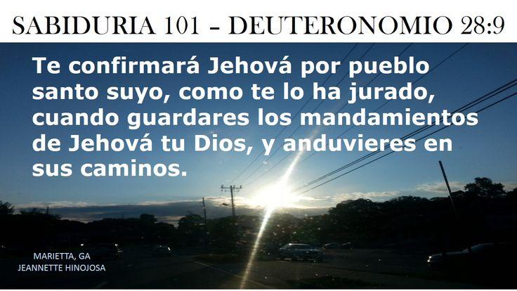 DEUTERONOMIO 28:9 - MARIETTA, GA
