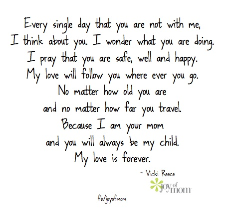 I love being you mom...