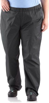 6ee1e067f8 Columbia Women s Storm Surge Rain Pants Plus Sizes Black 3X