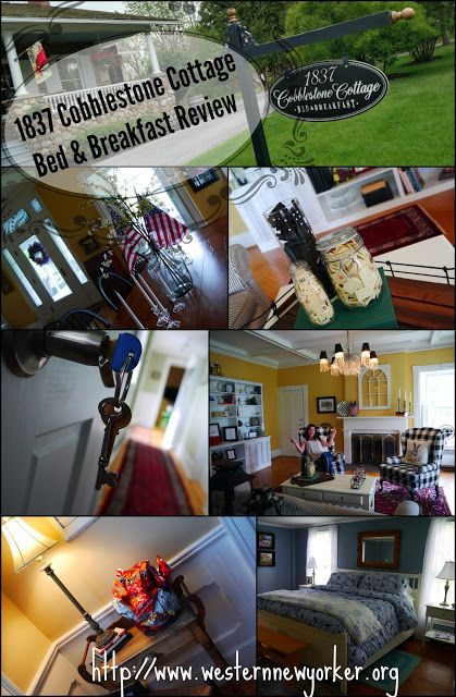 Western New Yorker: Our Stay at 1837 Cobblestone Cottage Bed & Breakfast