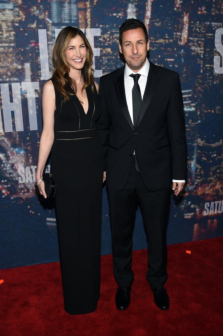 Pin for Later: Anyone Who's Anyone Was at the SNL 40th Anniversary Celebration Adam and Jackie Sandler