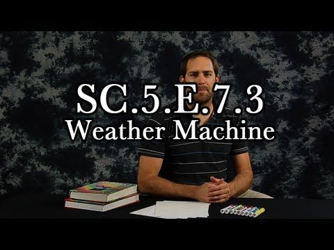 SC.5.E.7.3: Recognize how air temperature, barometric pressure, humidity, wind speed and direction, and precipitation determine the weather in a particular place and time. Video to support Summit lesson plan for this standard.
