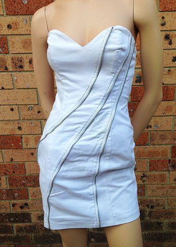 Size 10 Ladakh strapless dress