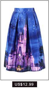 CHICING Satin Skirt Womens 2015 Fall Vintage City House Schilderen Printed baljurk geplooide hoge taille Midi Rok Saia A141208-in Rokken van Women Kleding op Aliexpress.com | Alibaba Group