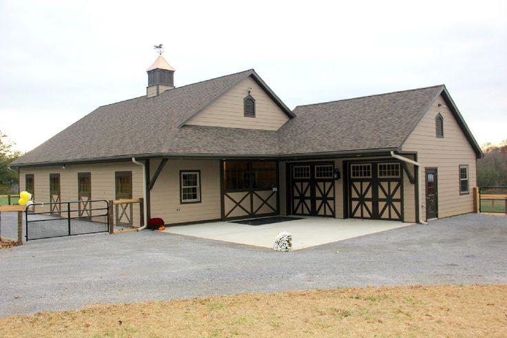 383 best barn house images on pinterest timber frames for Barn shaped house
