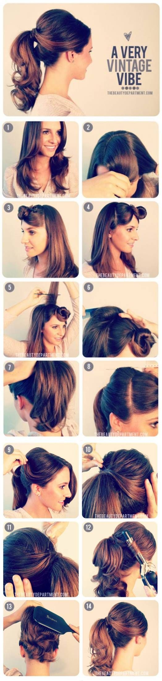 17 Retro DIY Hairstyles You Must Try   HipHomeMaking Follow Us on Facebook ==> https://www.facebook.com/HipHomeMakingOfficial