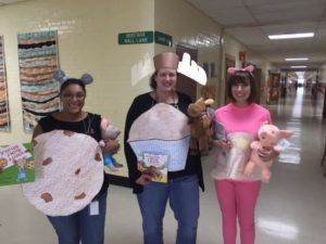 List of Best Ever Grade Level Costumes - If you Give a Mouse a Cookie Teacher Costumes