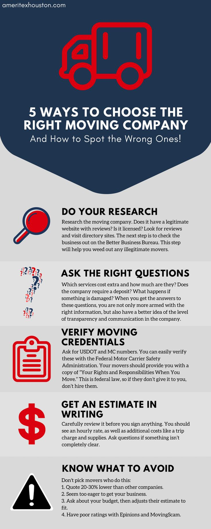 Okay, we know how hard it can be to pick a good moving company... there's so many out there! Check out this #infographic to find out how to pick 'em. #moving #movingtips #lifehacks #movingcompany #moveday