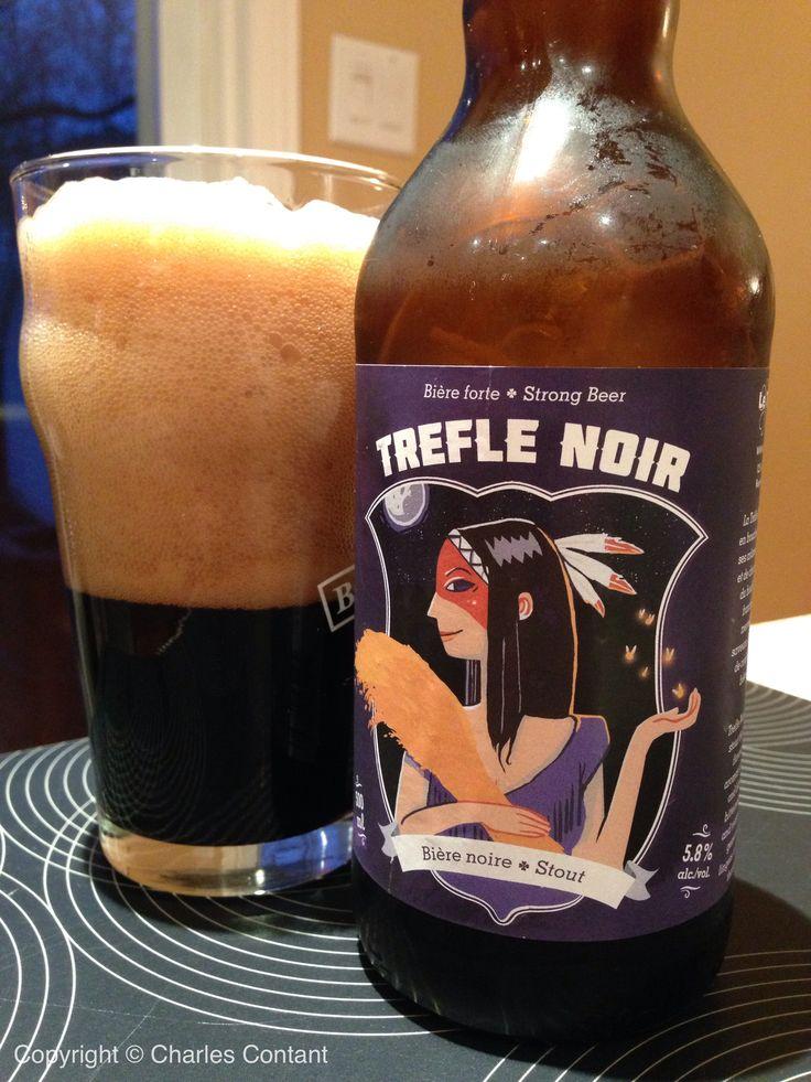 Trèfle Noir, microbrasserie de l'Abitibi-Témiscamingue, Québec.