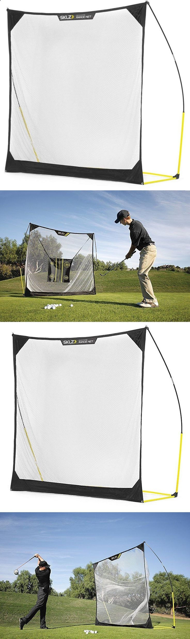 Golf Net - Nets Cages and Mats 50876: Golf Practice Net With Target Indoors Outdoors Sklz Quickster -> BUY IT NOW ONLY: $89.8 on eBay!