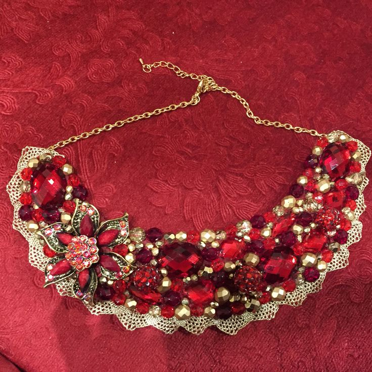 Handmade crystal neckpieces from the aisling maher boutique in Adare. X x x