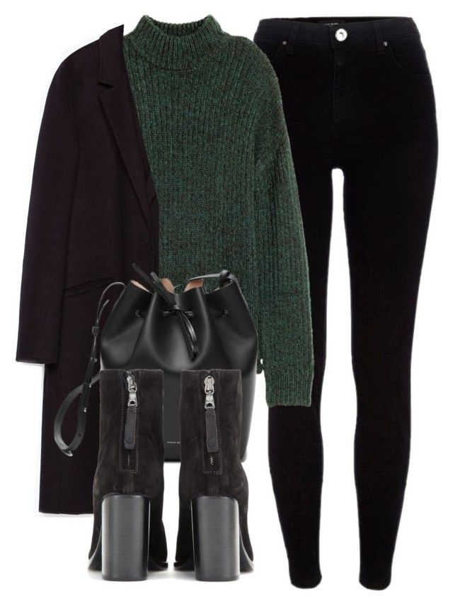 Untitled #6045 by laurenmboot on Polyvore featuring polyvore, moda, style, H&M, Zara, River Island, rag & bone, fashion and clothing