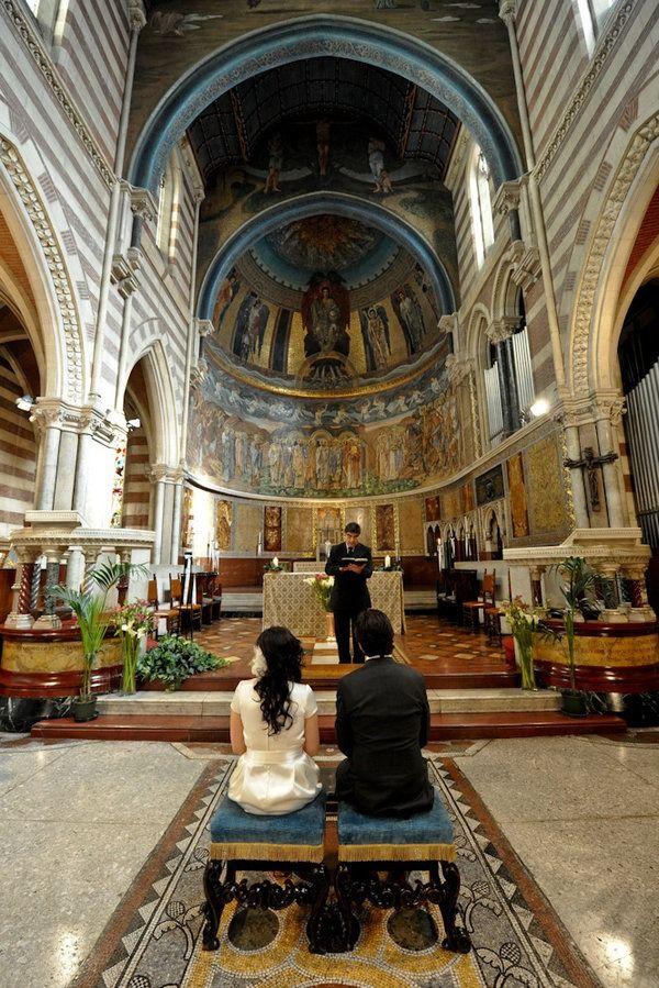 Romantic Rome Wedding from Italia Celebrations   Style Me Pretty. #wedding #weddinginvitations #destinationwedding