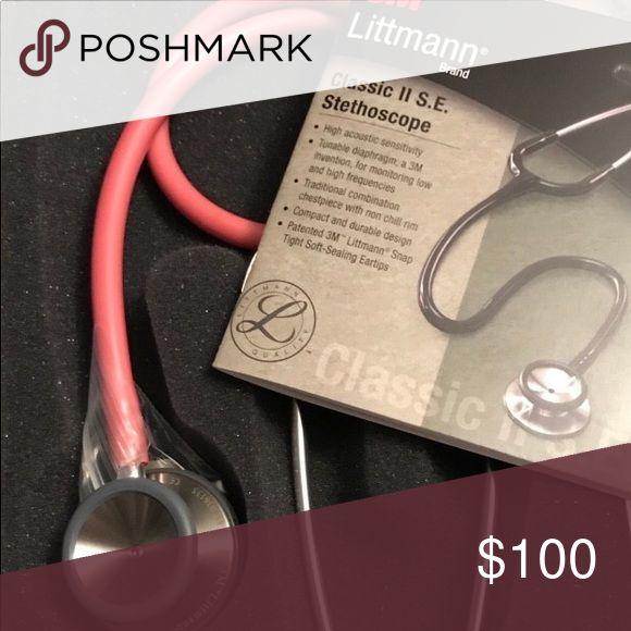Littmann stethoscope Pink littmann classic ll stethoscope littmann Accessories