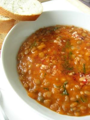 Yeşil Mercimek • simple recipe for green lentil soup