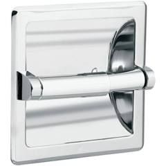 Moen 575 Recessed Toilet Paper Holder From The Donner Commercial Collection Chrome Accessory Tissue Holder Recessed