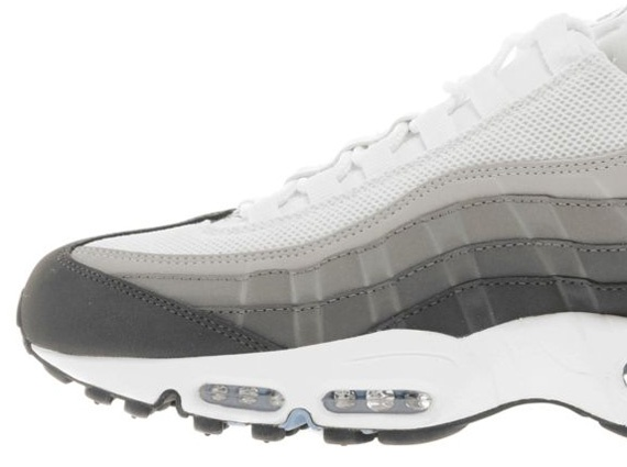 Air max 95s in gray and blue. Nike ...