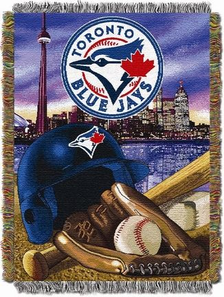 "Toronto Blue Jays ""Stadium"" 48"" x 60"" Tapestry Throw Blanket"