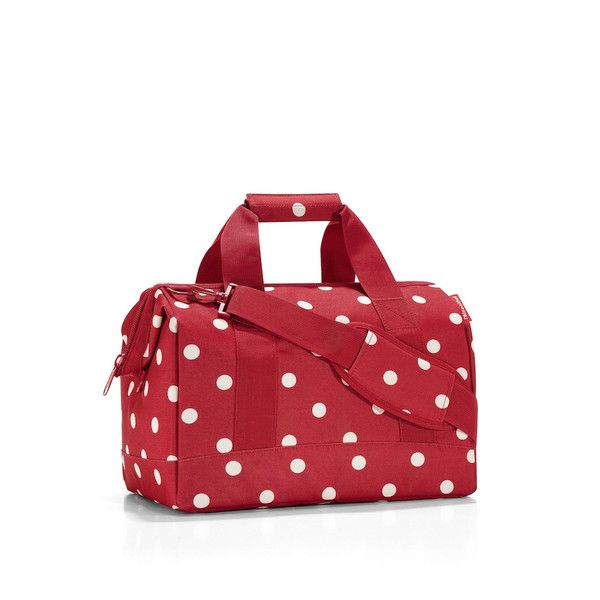 Reisenthel Allrounder M Travel Bag: Ruby Dots | $49.95