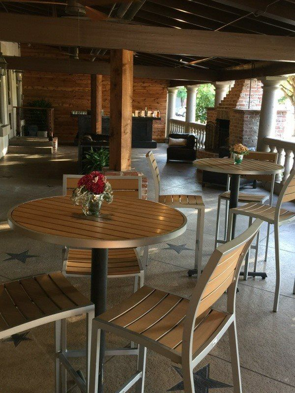 Best BFM Installation Gallery Images On Pinterest Industrial - Restaurant patio furniture