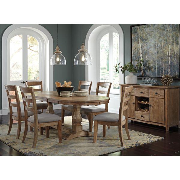 Light Gray Dining Room Set