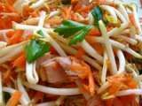 Recette Salade chinoise express au soja