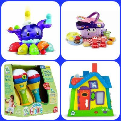 Best Leap Frog Toys for Infants - I just love LeapFrog products! All of their toys are educational and help babies reach their milestones. Infants will love how colorful these toys are, too.